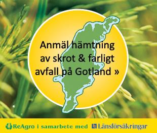 Anmäl hämtning av skrot & farligt avfall på Gotland