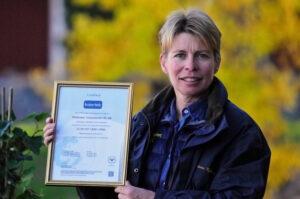 Linda med Strömsholms ISO-certifiering