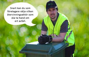 ReAgro hämtar ert sorterade avfall