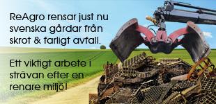 ReAgro hämtar skrot och farligt avfall i samarbete med Länsförsäkringar