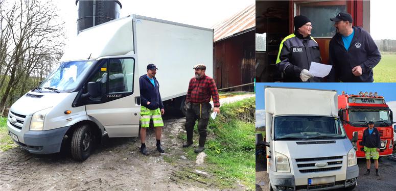 ReAgro hämtar farligt avfall i samarbete med Länsförsäkringar och lokala åkerier.