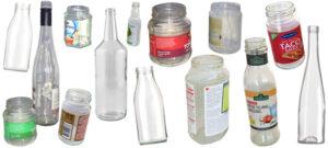 Ofärgade glasförpackningar