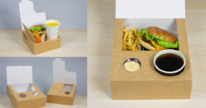 Nya förpackningar för take away och hemleveranser av mat.
