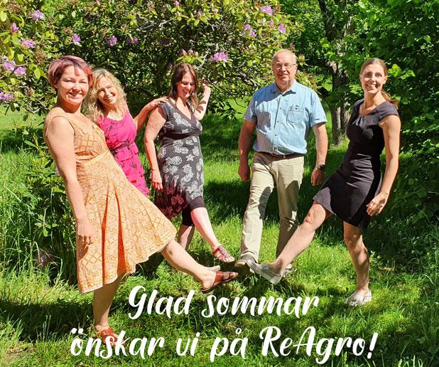 Trevlig sommar önskar vi på Reagrokontoret!