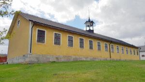Byggnad på Strömsholms ridanläggning