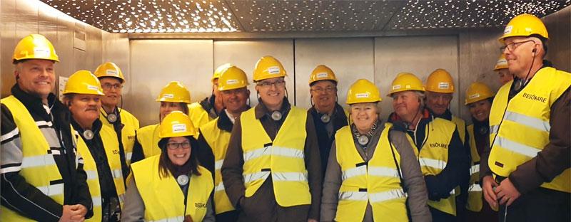 ReAgro besöker Uppsala Vattens biogasanläggning.